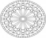 Printable mandala sfe8a coloring pages
