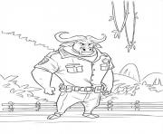 Printable zootopia 15 coloring pages