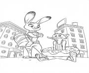 Printable zootopia 06 coloring pages