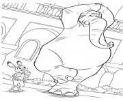Printable zootopia 09 coloring pages