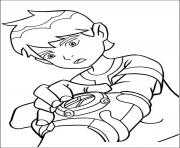 dessin ben 10 47 coloring pages