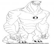 dessin ben 10 5 coloring pages