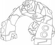 dessin ben 10 72 coloring pages