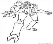 dessin ben 10 139 coloring pages