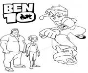 Printable dessin ben 10 28 coloring pages
