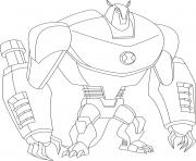dessin ben 10 73 coloring pages