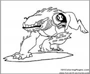dessin ben 10 80 coloring pages