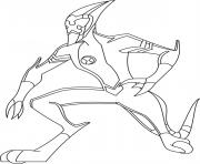 dessin ben 10 99 coloring pages