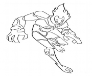 dessin ben 10 16 coloring pages