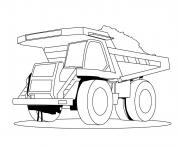 Print dessin camion benne 10 coloring pages