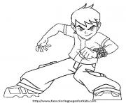 dessin ben 10 10 coloring pages