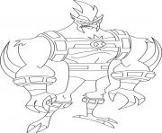 Printable dessin ben 10 27 coloring pages