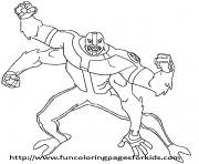 dessin ben 10 7 coloring pages