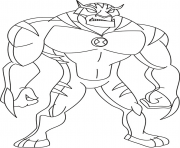dessin ben 10 20 coloring pages