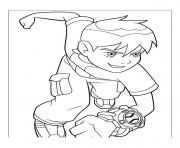 dessin ben 10 70 coloring pages