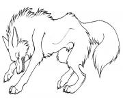Angry Cartoon Wolf S To Print Coloring Pages