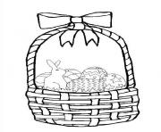 Printable easter 02 coloring pages