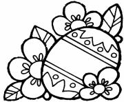 easter egg flowersjpg coloring pages