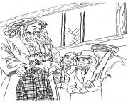 Print Harry Potter coloring pages