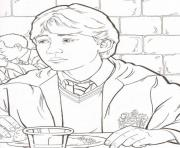 Printable Harry Potters Ron Coloring Pages