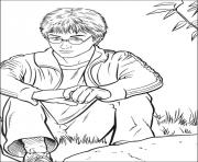 Print Harry Potter Pictures to Color coloring pages