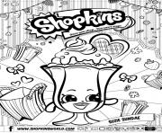 Printable shopkins suzie sundae coloring pages