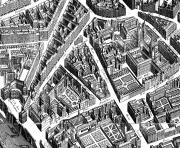 city map paris neighborhood 1739 coloring pages