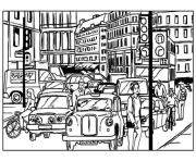 tokyo city pages128c coloring pages
