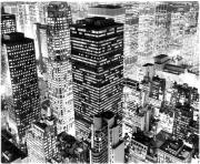 Printable city photo new york buildings coloring pages