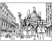 rome city pages616f coloring pages