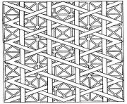 Printable adults patterns lines coloring pages