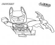 Print batman lego in the airs movie coloring pages
