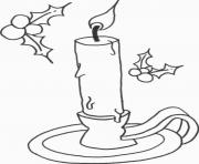 Print kids candle free s for christmasedef coloring pages