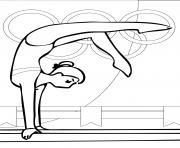 Print coloring pages for kids gymnastics the balanceb3ae coloring pages