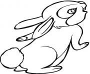 coloring pages for kids rabbit printable39f5