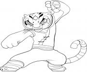 Print tigress s for kids kung fu pandaee59 coloring pages