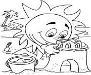 coloring pages for kids in the summerbfa9