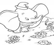 Print kids dumbo free printable cartoon sf928 coloring pages