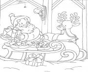 santa s for kids printable preparing presents3bf4 coloring pages
