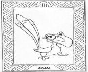 Printable free zazu  for kidsd9b6 coloring pages