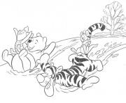 winnie the pooh winter s for kids8b06 coloring pages