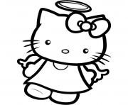 Print kids hello kitty s angel2e70 coloring pages