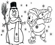 Print winnie the pooh free christmas s for kidsfd59 coloring pages