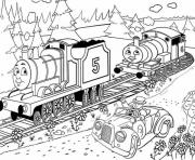 Print printable thomas the train s kids06e0 coloring pages