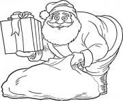Print presents and santa s for kids printableb214 coloring pages