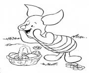 Print Happy Easter with Disney for Kids Picture coloring pages