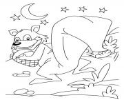 Print squirrel s for kids7050 coloring pages