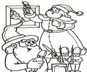 Print prepared santa christmas s for kidsb368 coloring pages