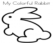 Print printable s for kids rabbit1872 coloring pages