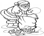 Print christmas s for kids santa and presents29bf coloring pages